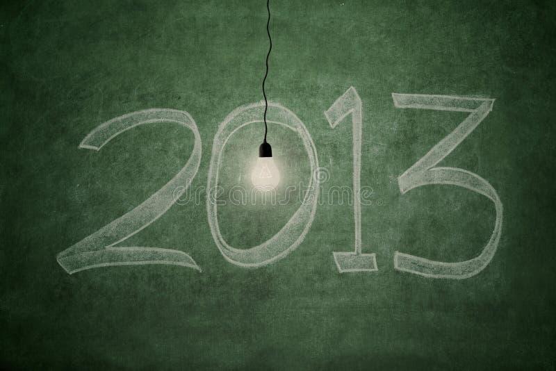 Φωτεινό μέλλον στο 2013 Στοκ Φωτογραφία