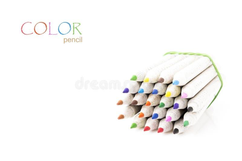 Φωτεινό μολύβι χρώματος στοκ φωτογραφίες