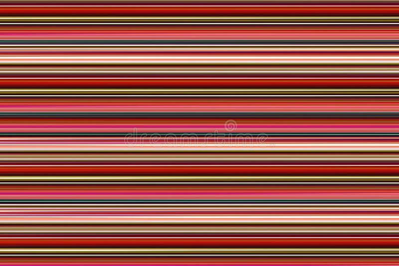 Φωτεινό οριζόντιων γραμμών υποβάθρου ζωηρόχρωμο κλίσης κόκκινο ρόδινο πορφυρό μπεζ σχέδιο σχεδίων αντίθεσης μαύρο στοκ εικόνες