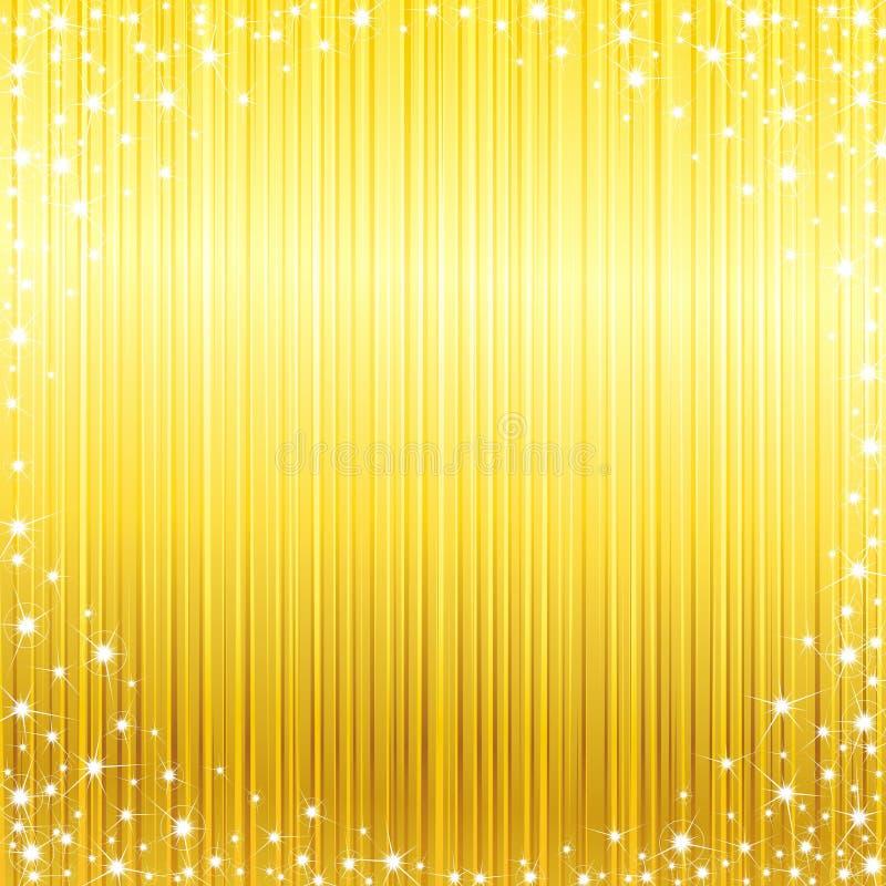 φωτεινό πλαίσιο sparkly διανυσματική απεικόνιση