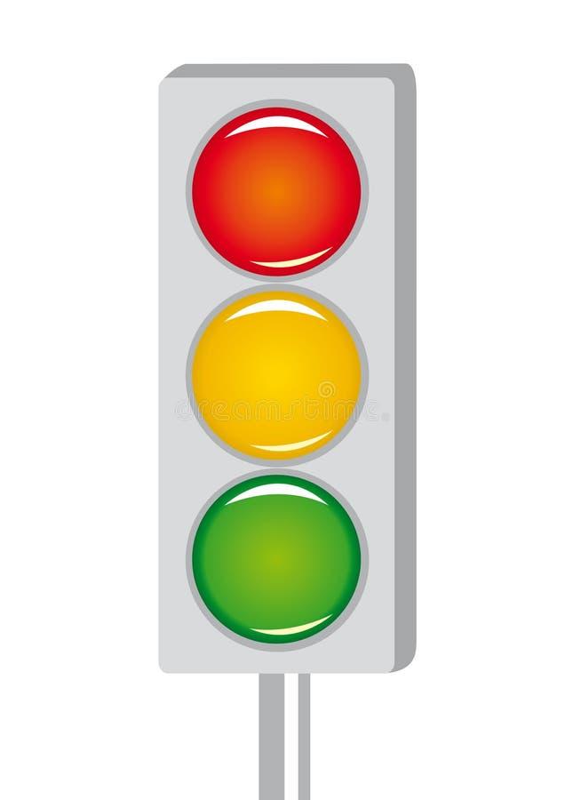 φωτεινό σήμα κινούμενων σχ&ep απεικόνιση αποθεμάτων