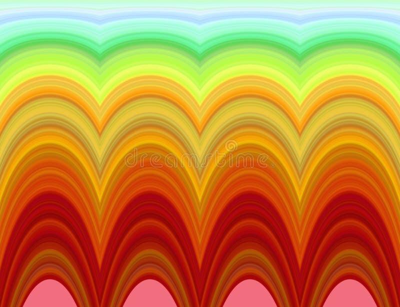 Φωτεινό psychedelic πρότυπο διανυσματική απεικόνιση
