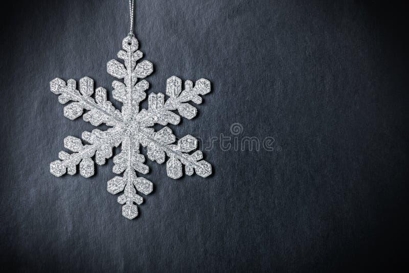 φωτεινό snowflake σχεδίου Χριστουγέννων διάνυσμα στοκ φωτογραφίες με δικαίωμα ελεύθερης χρήσης