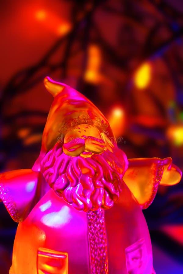 Download Φωτισμένη κατακόρυφος Santa Στοκ Εικόνες - εικόνα από φιλικός, φωτισμένος: 17056720