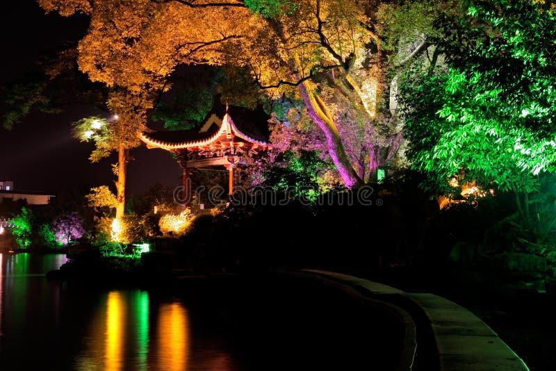 φωτισμένο guilin δέντρο της Κίνα&sig στοκ φωτογραφία με δικαίωμα ελεύθερης χρήσης