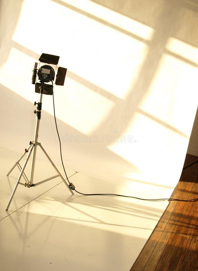 Φωτισμός στούντιο στοκ εικόνες