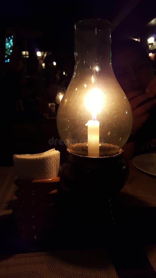Φωτισμός στο σκοτάδι στοκ φωτογραφία