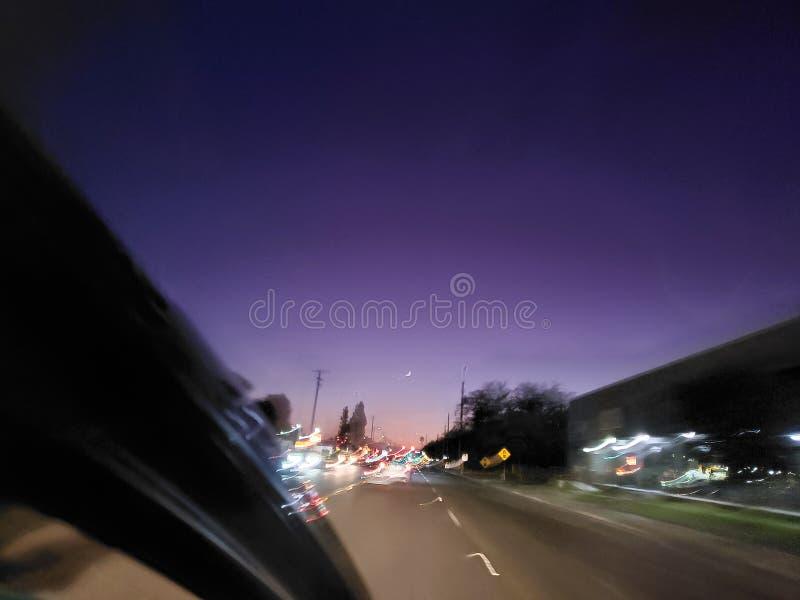Φωτισμός της πόλης HAZE στοκ εικόνα