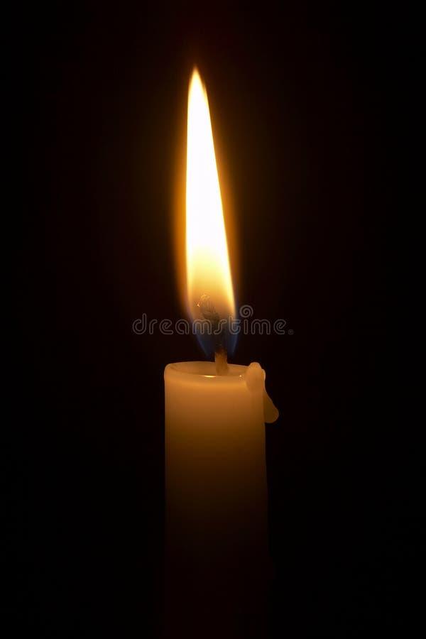 φωτισμός 5 κεριών στοκ φωτογραφία με δικαίωμα ελεύθερης χρήσης