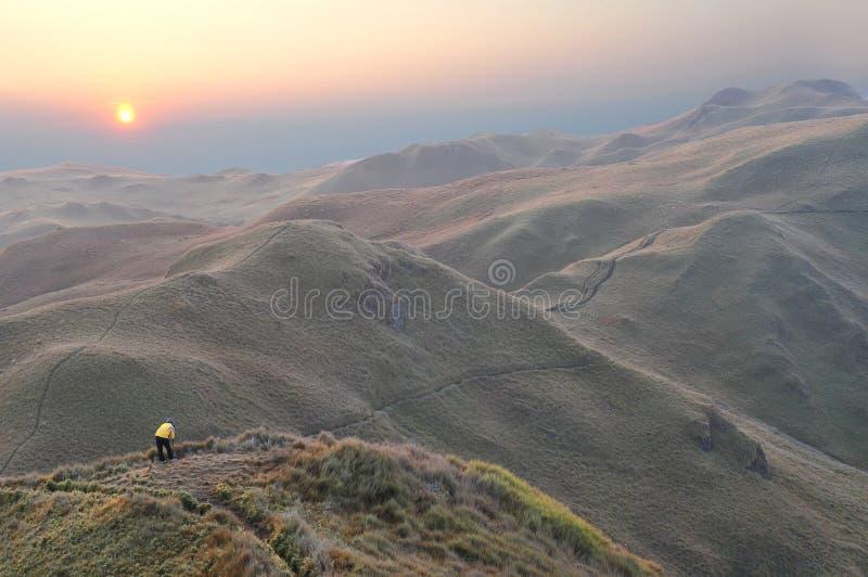 φωτογράφος τοπίων στοκ φωτογραφία με δικαίωμα ελεύθερης χρήσης