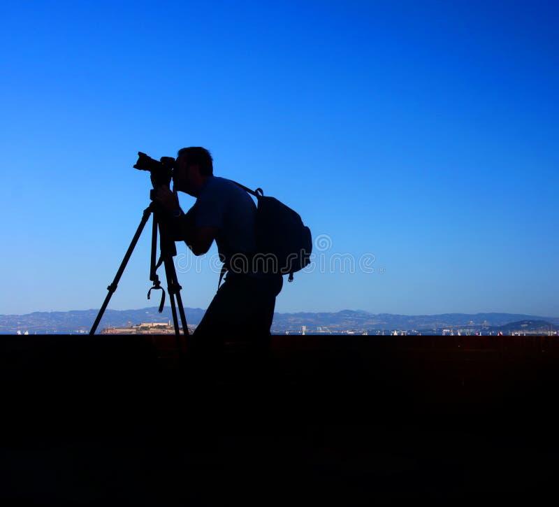 Φωτογράφος του Σαν Φρανσίσκο στοκ φωτογραφίες