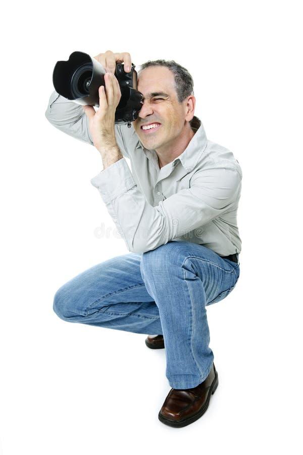 φωτογράφος φωτογραφικών στοκ φωτογραφία με δικαίωμα ελεύθερης χρήσης