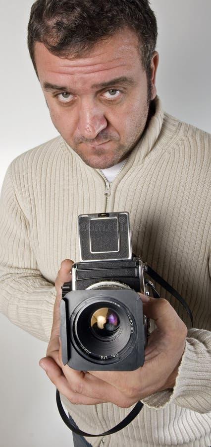 φωτογράφος φωτογραφικών στοκ φωτογραφία