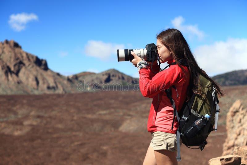 φωτογράφος φύσης στοκ φωτογραφίες με δικαίωμα ελεύθερης χρήσης