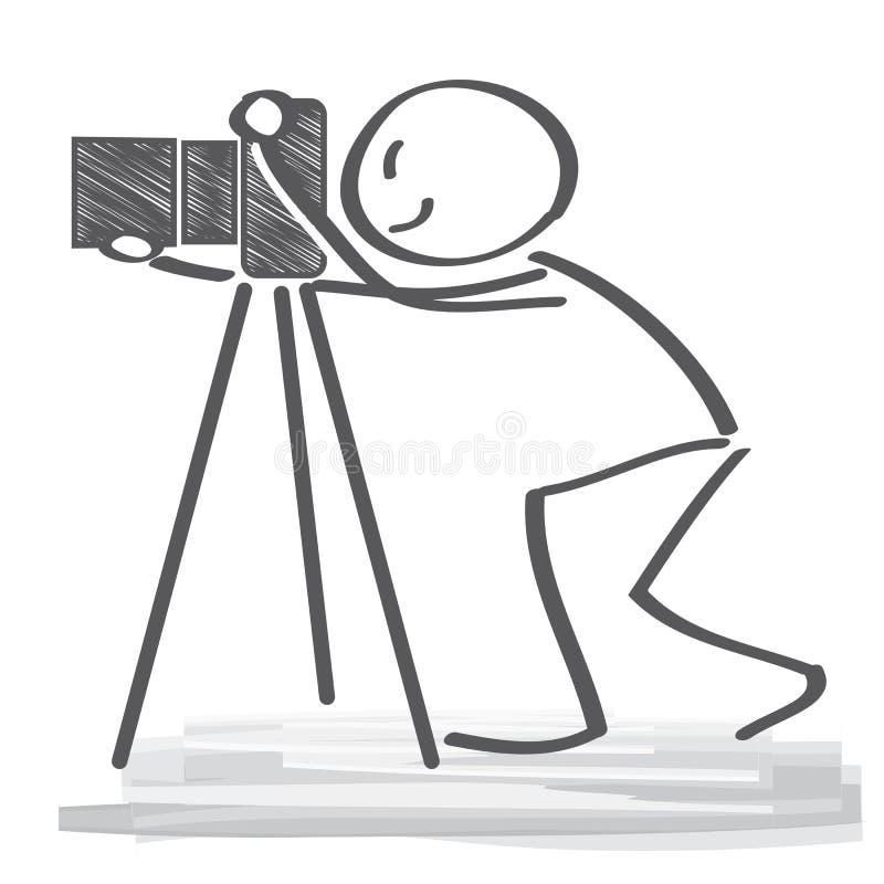 Φωτογράφος απεικόνιση αποθεμάτων