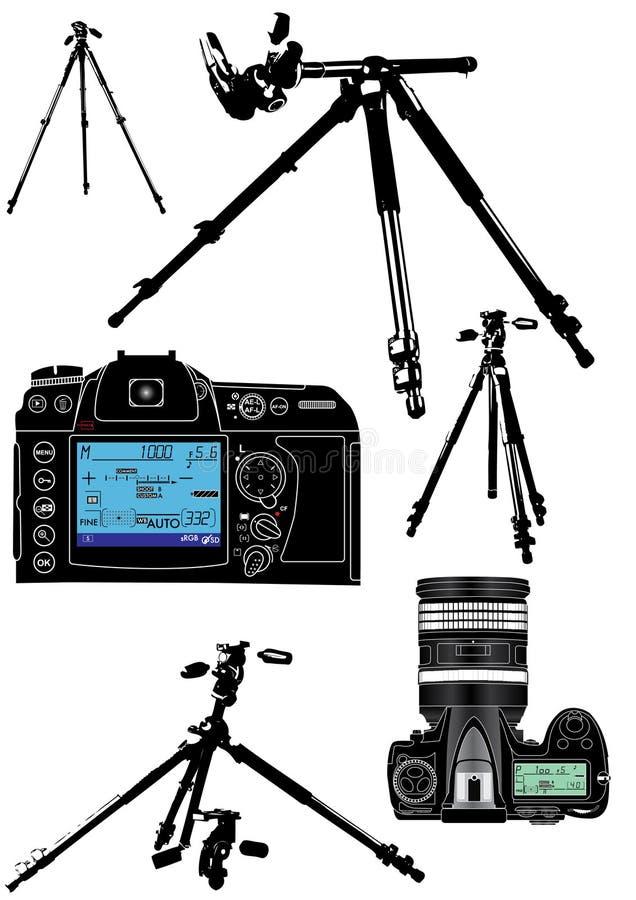 φωτογράφος s εξοπλισμού απεικόνιση αποθεμάτων