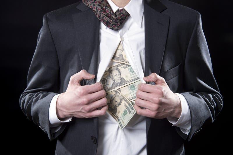 Φιαγμένος από χρήματα στοκ φωτογραφία με δικαίωμα ελεύθερης χρήσης