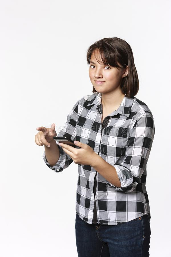 Φωτογραφία έννοιας κοριτσιών εφήβων στοκ εικόνες με δικαίωμα ελεύθερης χρήσης