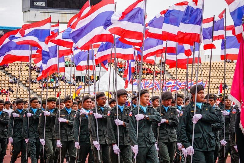 Φωτογραφία αποθεμάτων - Nakhon Ratchasima, Ταϊλάνδη 16 Δεκεμβρίου 2016 Μ στοκ φωτογραφία