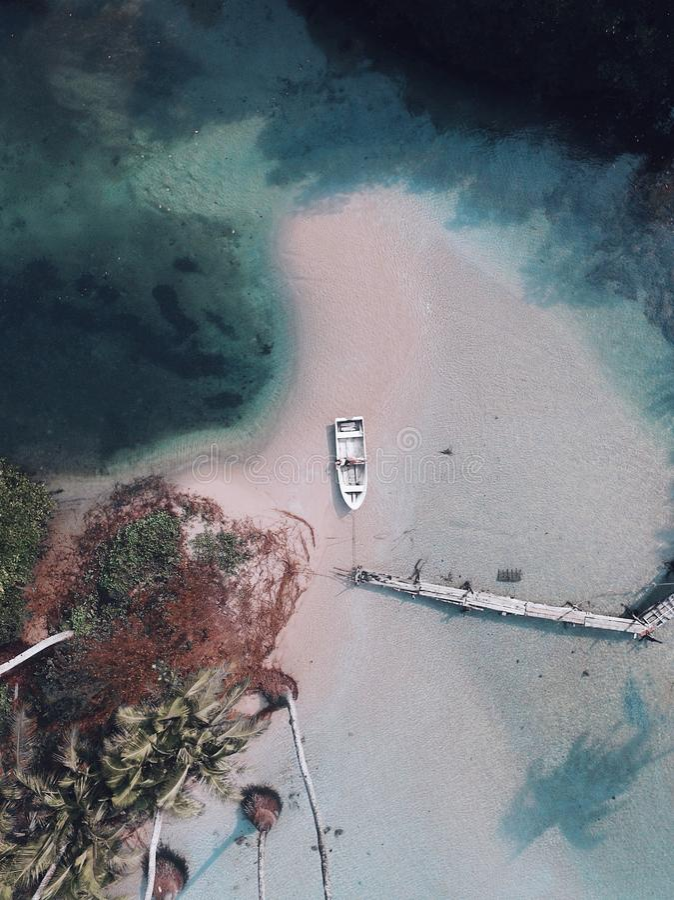 φωτογραφία από το quadrocopter/κηφήνας στην Ταϊλάνδη στην παραλία στοκ εικόνες με δικαίωμα ελεύθερης χρήσης