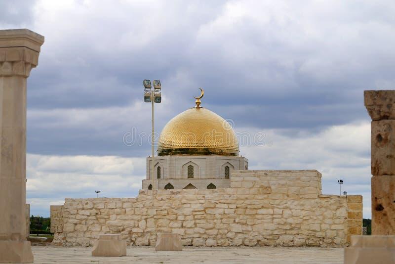Φωτογραφία ενός όμορφου μνημείου της αποδοχής του Ισλάμ στοκ φωτογραφία