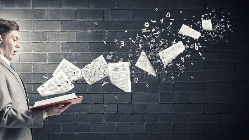 1 φωτογραφία επιχειρηματιών βιβλίων στοκ εικόνες