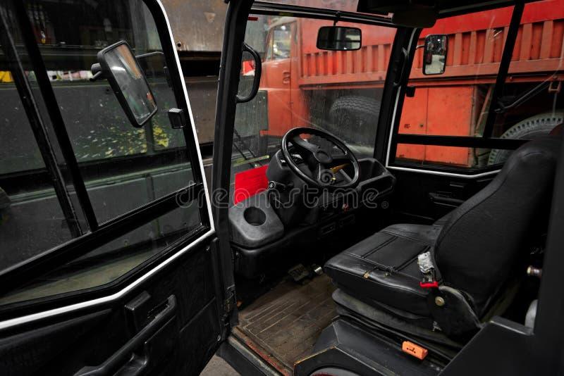 Φωτογραφία κινηματογραφήσεων σε πρώτο πλάνο ενός βιομηχανικού φορτηγού στοκ φωτογραφία με δικαίωμα ελεύθερης χρήσης