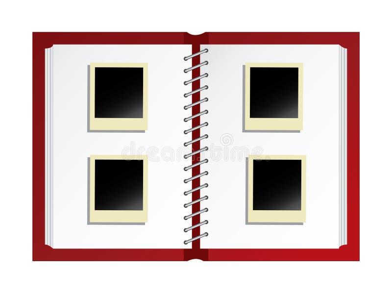 φωτογραφία λευκωμάτων ελεύθερη απεικόνιση δικαιώματος