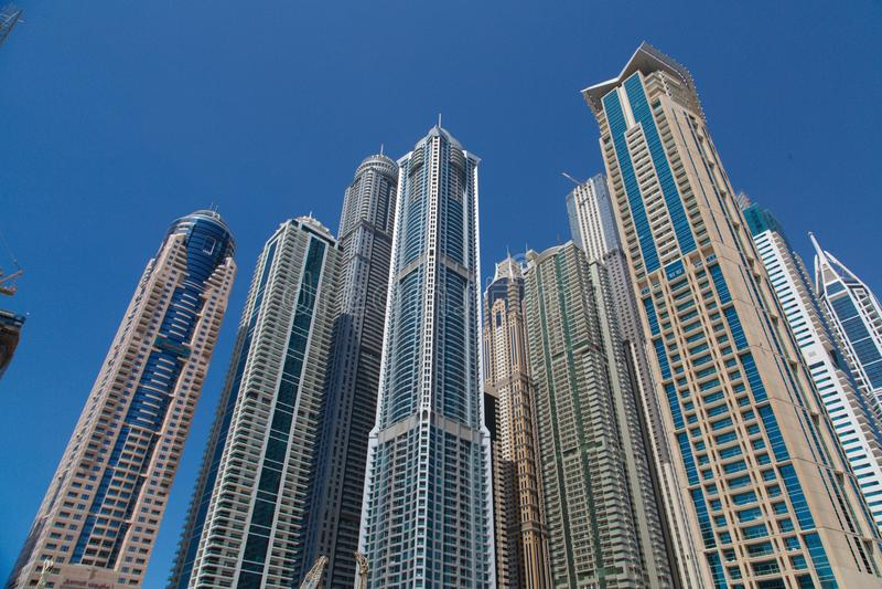 φωτογραφία μαρινών Μαρτίου 2012 αραβική περιοχής εμιράτων του Ντουμπάι που λαμβάνεται που ενώνεται στοκ εικόνα