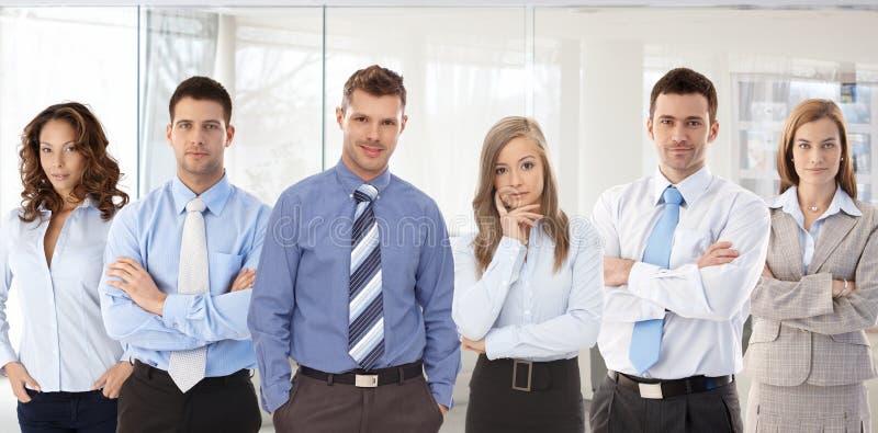 Φωτογραφία ομάδας του νέου businesspeople στοκ εικόνες με δικαίωμα ελεύθερης χρήσης