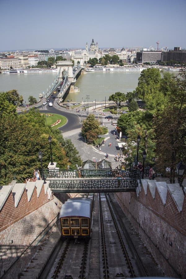 Φωτογραφία οδών της Βουδαπέστης στοκ φωτογραφία με δικαίωμα ελεύθερης χρήσης
