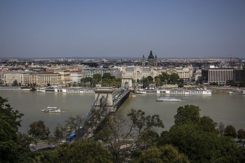 Φωτογραφία οδών της Βουδαπέστης στοκ φωτογραφίες