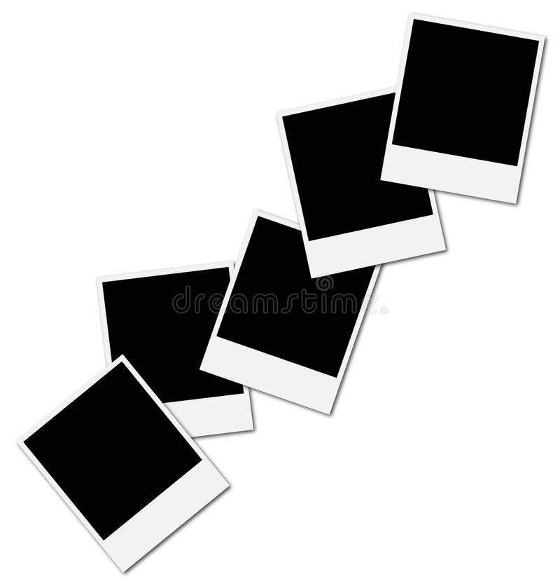 φωτογραφία πλαισίων κολά& διανυσματική απεικόνιση
