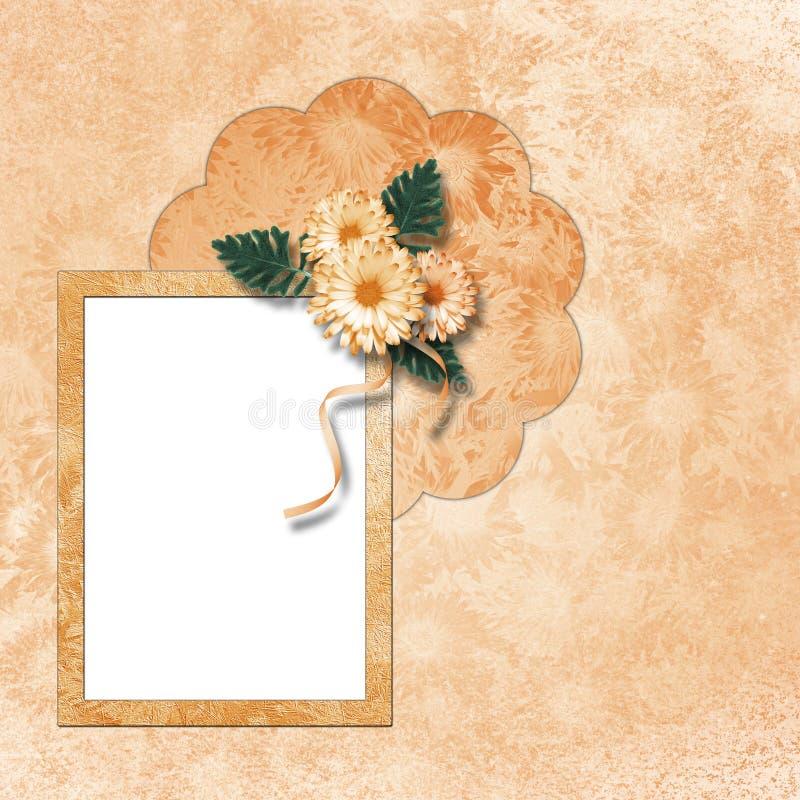 φωτογραφία πρόσκλησης πλ& απεικόνιση αποθεμάτων