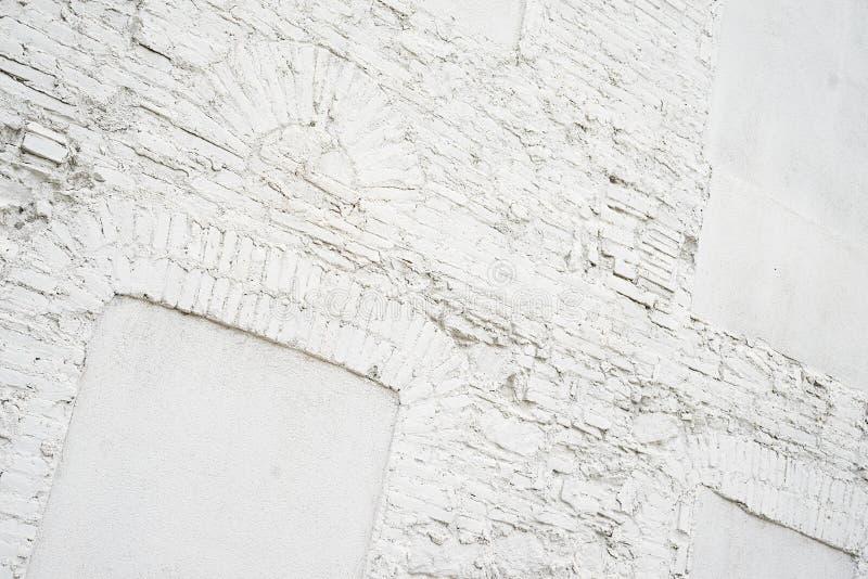 Φωτογραφία του αφηρημένου εκλεκτής ποιότητας κενού υποβάθρου Παλαιά άσπρη χρωματισμένη σύσταση τουβλότοιχος Άσπρη πλυμένη brickwa στοκ φωτογραφίες