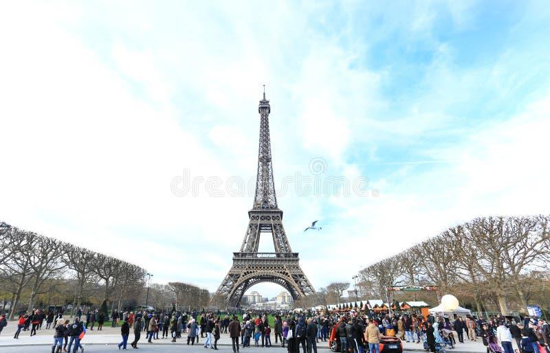 Φωτογραφία του πύργου του Άιφελ στοκ εικόνα με δικαίωμα ελεύθερης χρήσης