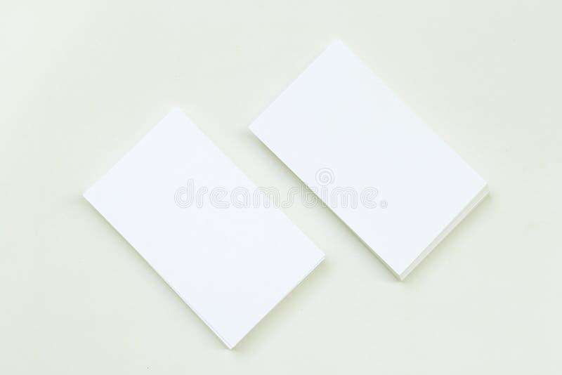 Φωτογραφία του σωρού επαγγελματικών καρτών στοκ εικόνες με δικαίωμα ελεύθερης χρήσης