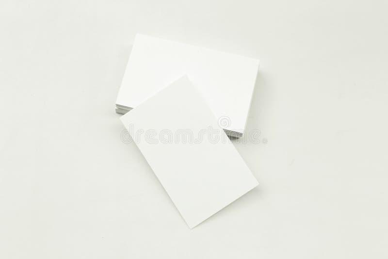 Φωτογραφία του σωρού επαγγελματικών καρτών στοκ φωτογραφίες