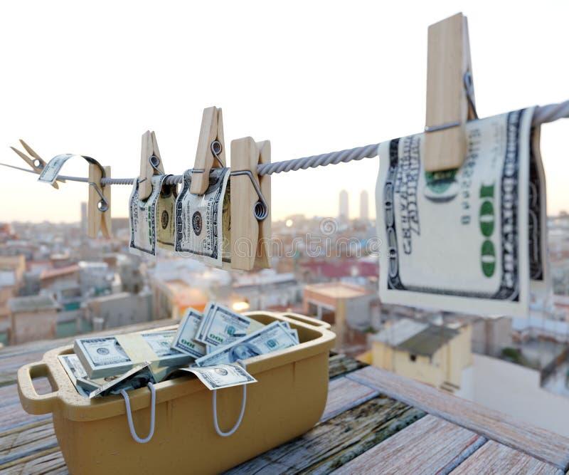 Φωτογραφία υποβάθρου έννοιας χρημάτων πλύσης στοκ εικόνες
