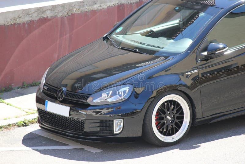 Φωτογραφία ` s ενός γκολφ 5 του Volkswagen και του γκολφ 6 GTI του Volkswagen στοκ εικόνες