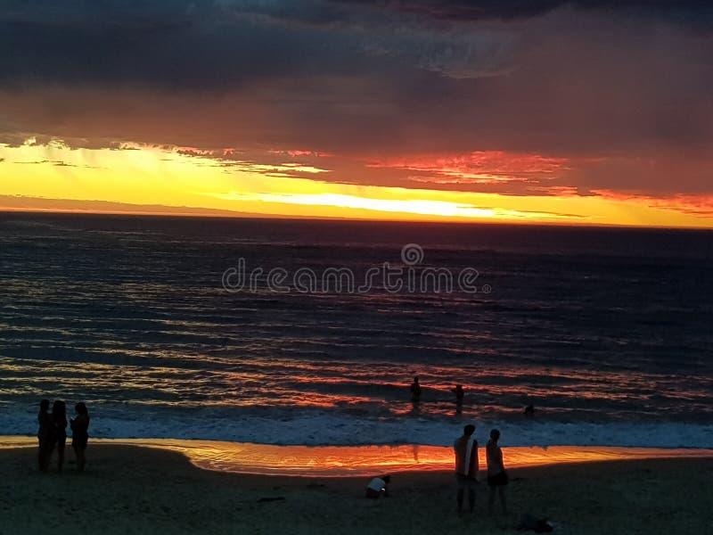 Φωτογραφίες ηλιοβασιλέματος παραλιών Noarlunga λιμένων στοκ εικόνες με δικαίωμα ελεύθερης χρήσης