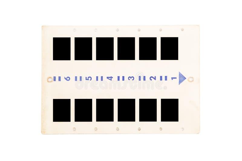 Φωτογραφικές διαφάνειες φωτογραφιών στοκ φωτογραφία με δικαίωμα ελεύθερης χρήσης