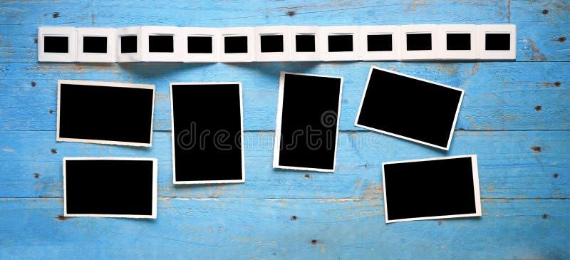 Φωτογραφικές διαφάνειες και εικόνες στοκ εικόνες