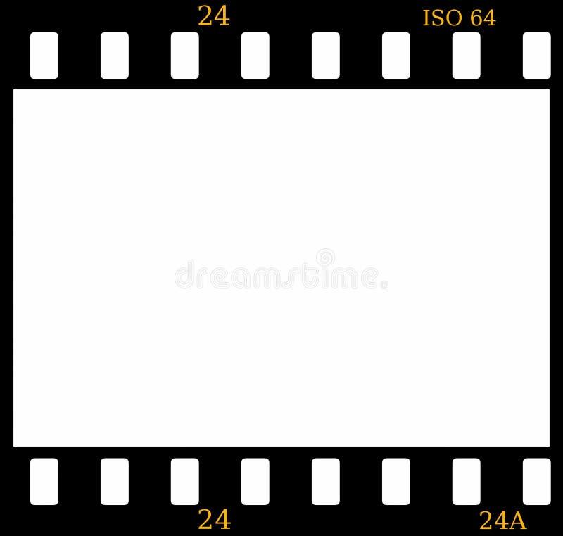 φωτογραφική διαφάνεια πλ διανυσματική απεικόνιση