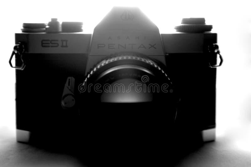 Φωτογραφική κάμερα PENTAX στοκ εικόνες με δικαίωμα ελεύθερης χρήσης