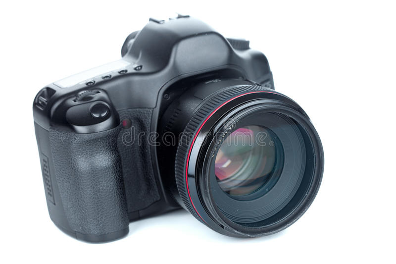 Φωτογραφική μηχανή φωτογραφιών DSLR στοκ εικόνα με δικαίωμα ελεύθερης χρήσης
