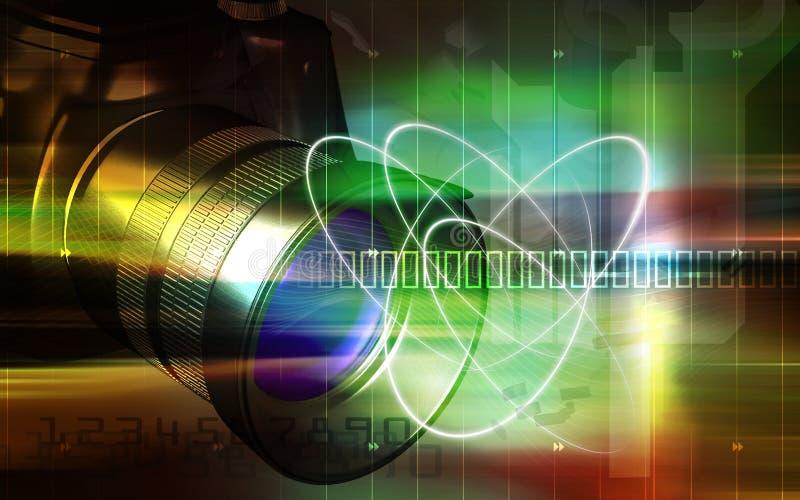 φωτογραφική μηχανή απεικόνιση αποθεμάτων