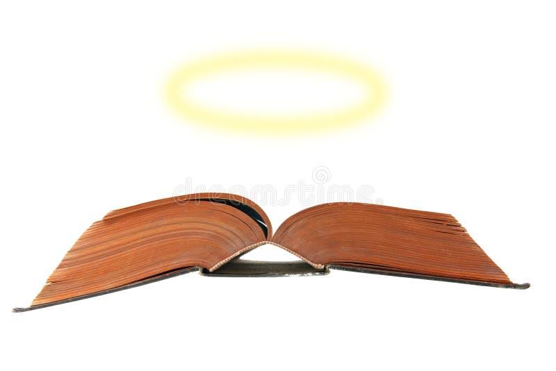 φωτοστέφανος Βίβλων στοκ εικόνες με δικαίωμα ελεύθερης χρήσης