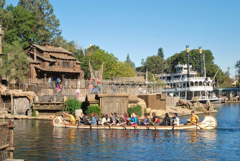Φωλιά πειρατών στο νησί πριονιστών του Tom σε Disneyland,  στοκ εικόνα με δικαίωμα ελεύθερης χρήσης