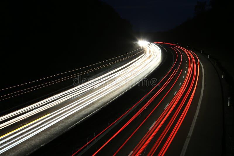 Φω'τα αυτοκινήτων στοκ φωτογραφία